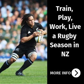 Train, Play, Work & Live a Rugby Season in NZ
